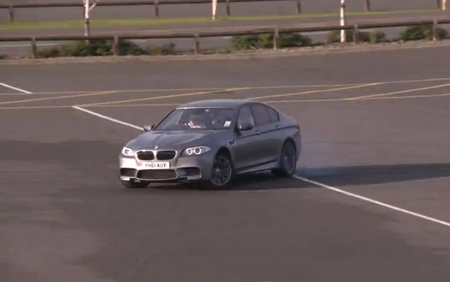 BMW F10 M5 Drift