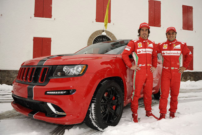2012 Jeep Grand Cherokee SRT8 SUV with Ferrari Look