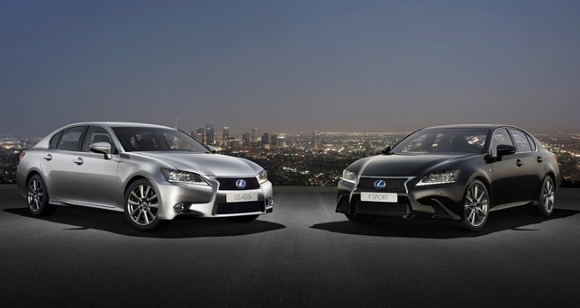 New 2012 Lexus GS Range
