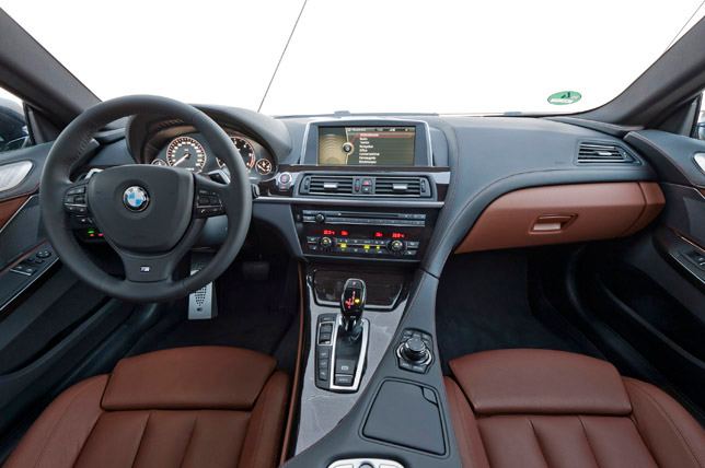 2012 BMW 640d xDrive Coupe Interior