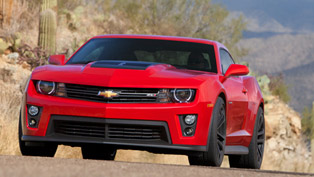 2012 Chevrolet Camaro ZL1 with improved performance