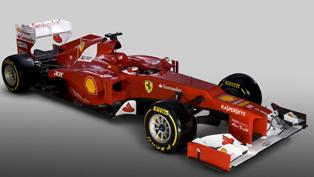 2012 F1 Season – Ferrari F2012
