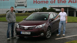 2012 Toyota Avensis T Spirit Tourer D4-D - 1456 km on a single tank of fuel