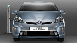 2012 Toyota Prius Plug-In Hybrid with the lowest CO2 emissions on the market