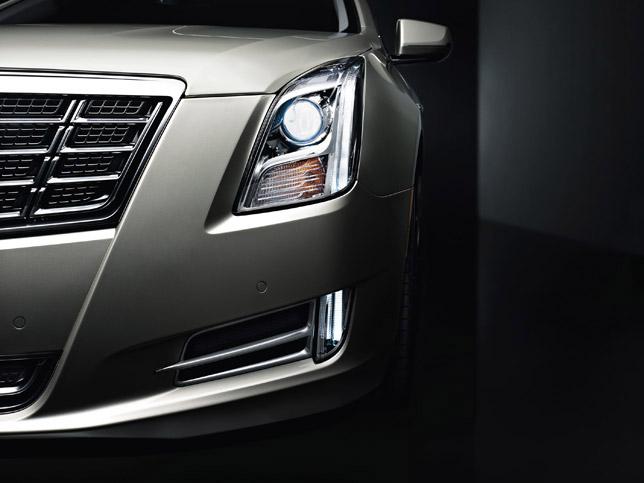 2013 Cadillac XTS Lighting