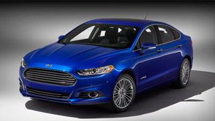 2013 ford fusion hybrid is the most fuel-efficient sedan in the u.s.