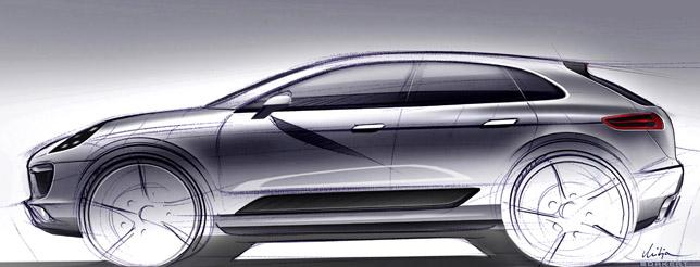 2013 Porsche Macan sketch