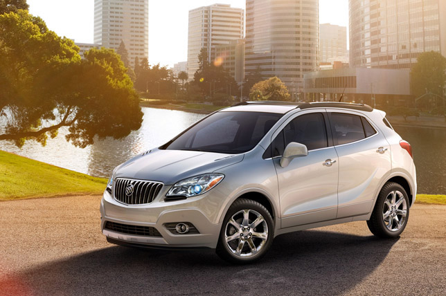 2013 Buick Encore Small Luxury Crossover