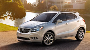 2013 Buick Encore with more storage space