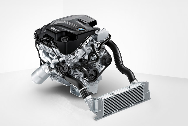BMW 4-cylinder petrol engine with TwinPower Turbo