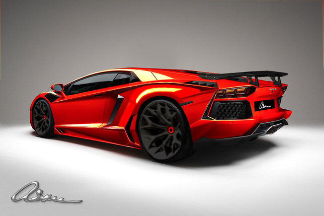 ASMA Design Lamborghini Aventador