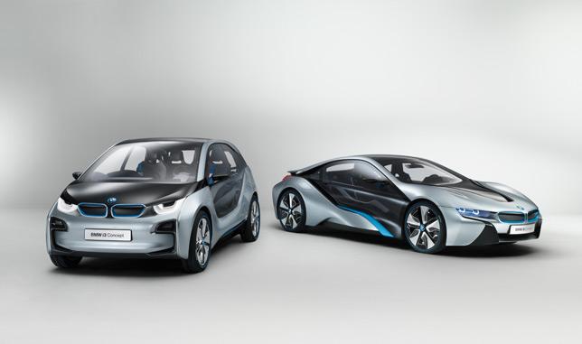 BMW i3 & i8 Concepts
