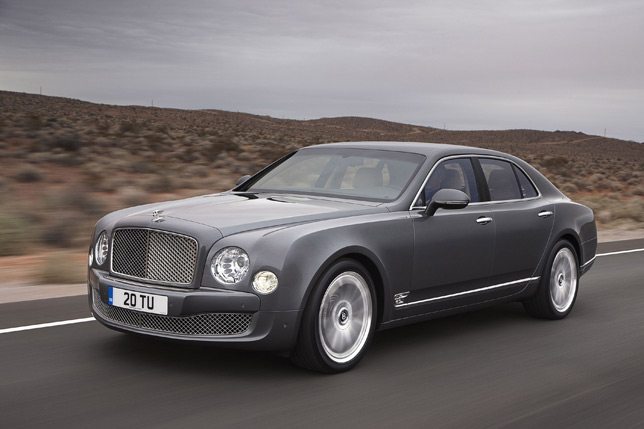 Bentley Musanne Mulliner Driving Specification (2012)