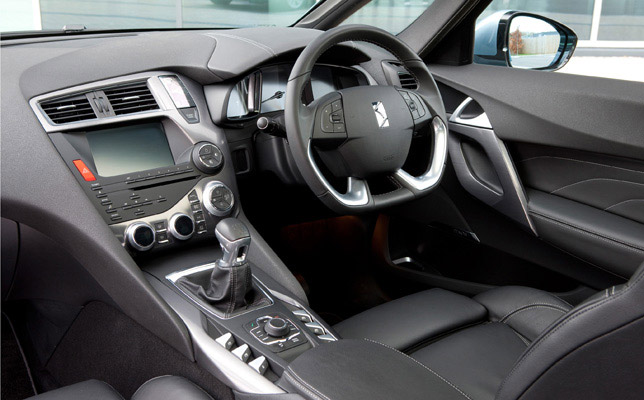 2012 Citroen DS5 Interior