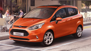 Ford B-Max at Geneva