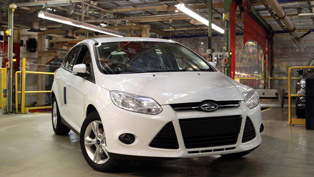 2012 Ford Focus with 1.0-liter EcoBoost Engine