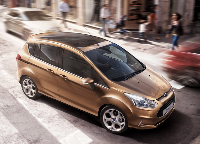 2012 Ford B-MAX Compact Multi-Activity Vehicle