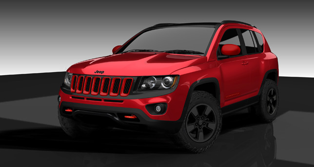 Moper Jeep Compass 'True North'