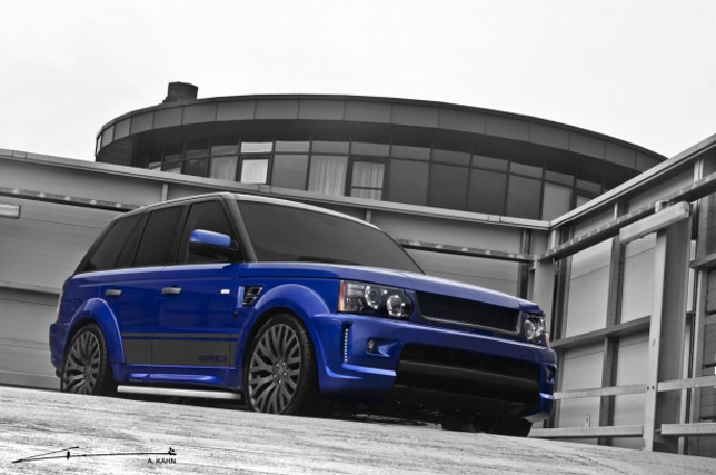 Kahn Imperial Blue Cosworth Range Rover