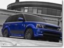 Kahn Design Imperial Blue Cosworth Range Rover