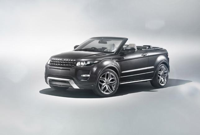Land Rover Evoque Convertible Concept