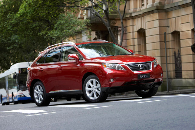 Lexus RX 350 Sports Luxury