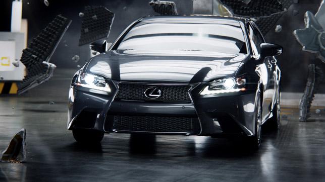 2013 Lexus GS Commercial