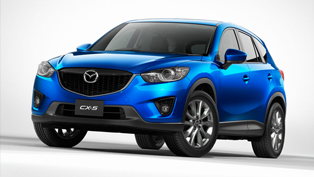 Mazda CX-5 SUV with world's lightest bumpers
