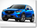 Mazda CX-5 SUV with world