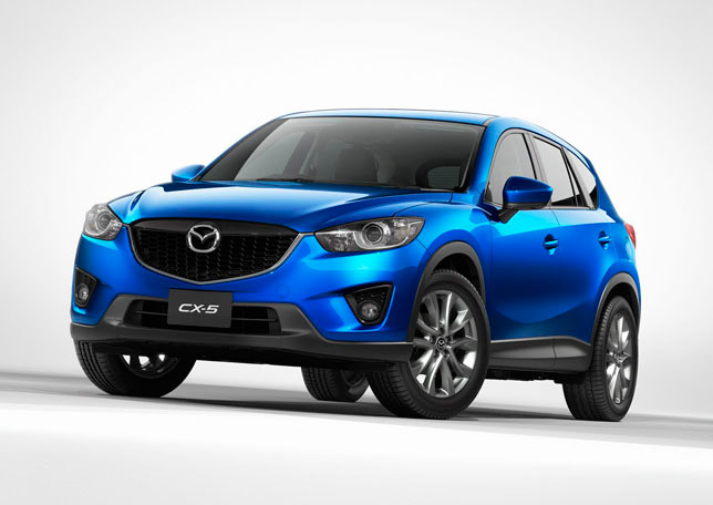 The all-new Mazda CX-5 SUV Crossover