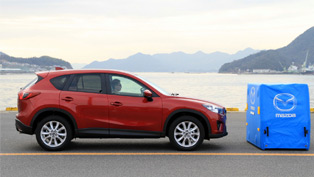 Smart City Brake Support for Mazda CX-5