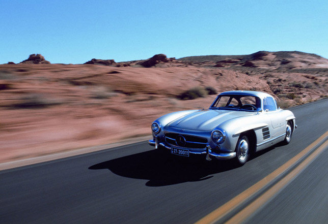 Mercedes-Benz 300SL (W198 - the road version)
