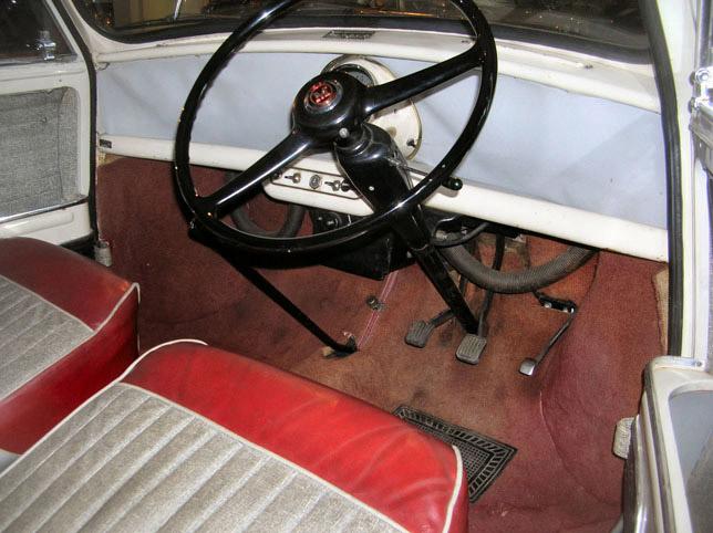 1959 MINI Original Interior