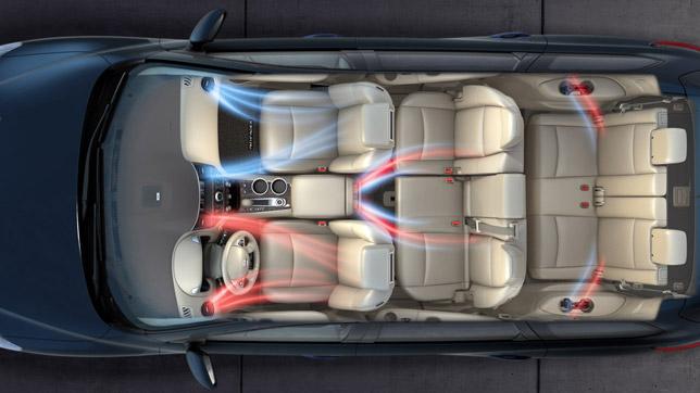 Nissan Pathfinder Concept Interior