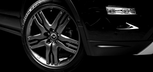 Overfinch Evoque Olympus Detail