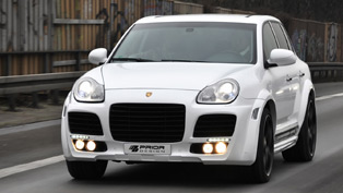 prior design porsche cayenne widebody kit