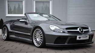 mercedes sl prior design aerodynamics