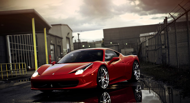 SR Ferrari 458 Italia Project Era
