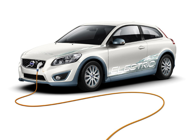 2012 Volvo C30 Electric Used with the Smart Charging Concept
