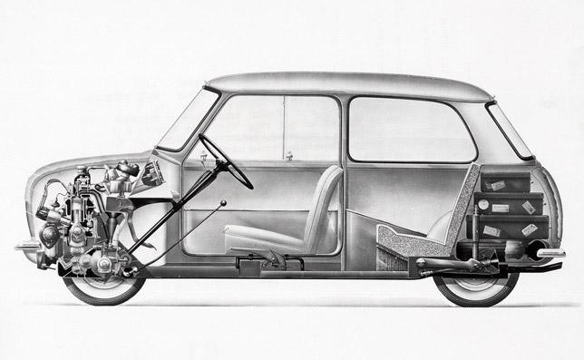 Austin Seven and Morris Mini Minor (1959)