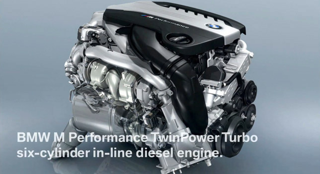 BMW M Performance Twin-turbo six-cylinder in-line engine