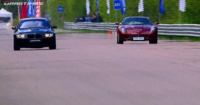 BMW M3 vs Ferrari 599 Fiorano