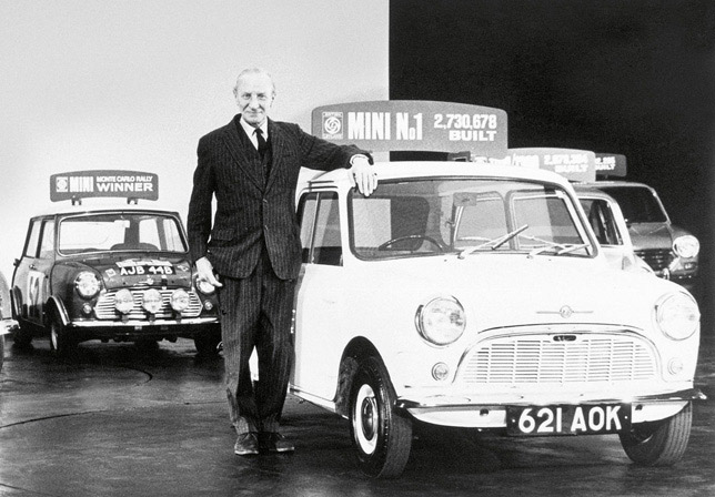 Sir Alec Issigonis and MARK I MINI (1959)
