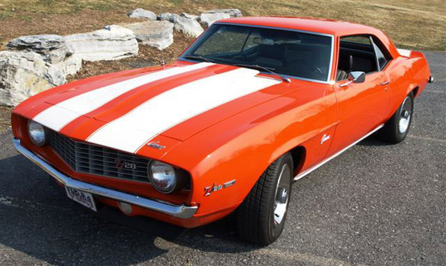 1969 Chevrolet Camaro Hugger Orange