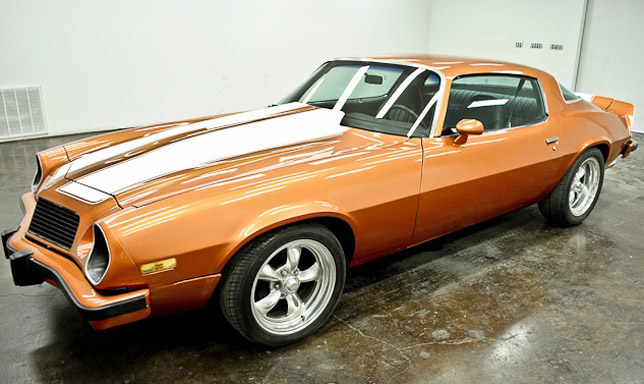 A third generation 1977 Chevrolet Camaro Z28