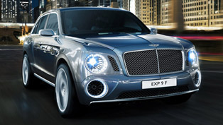 2012 Bentley EXP 9 F SUV Concept to be revealed in Geneva