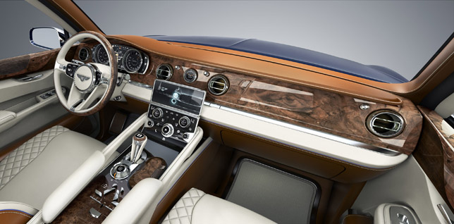 2012 Bentley EXP 9 F SUV Concept Interior