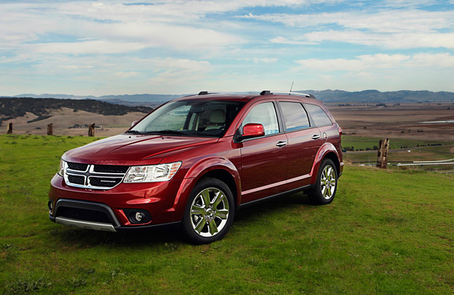 2012 Dodge Journey SXT Four-Cylinder Model
