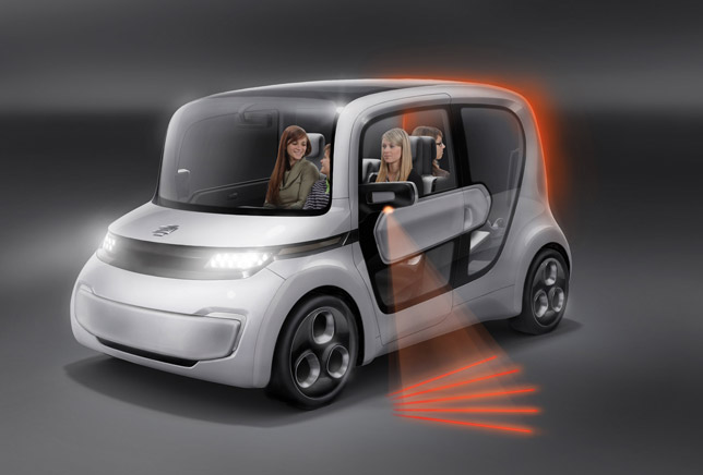 2012 EDAG Light Car - Sharing concept