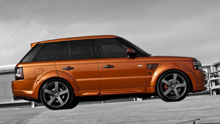 2012 Kahn Vesuvius Orange Range Rover